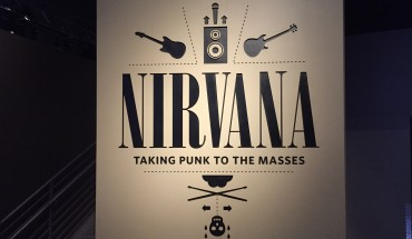 Nirvana kiállítás bejárat
