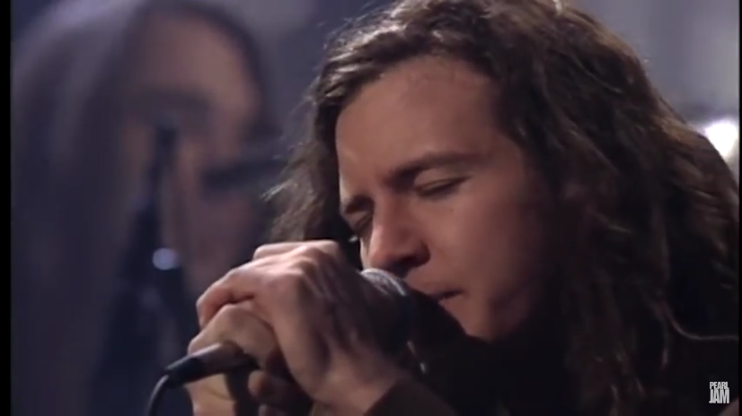 Eddie Vedder MTV Unplugged 1992. Pearl Jam