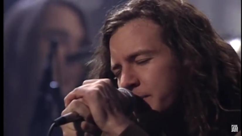 Eddie Vedder MTV Unplugged 1992. Pearl Jam